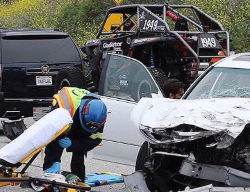 Bruce Jenner Sued For Negligence In Crash